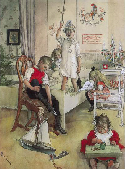 christmas-morning-1894(1) Carl Larsson
