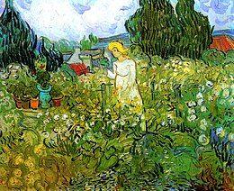 Marguerite Gachet au Jardin 1890 Van Gogh